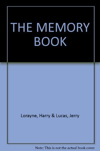 9780352398567: The Memory Book