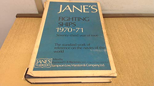 9780354000666: Jane's Fighting Ships, 1970-71