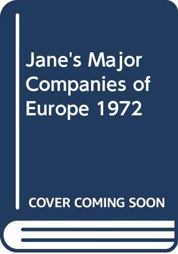 Jane's Major Companies of Europe: Gray Lionel F