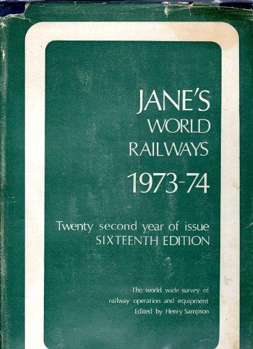 Jane's World Railways: Goldsack, Paul J.