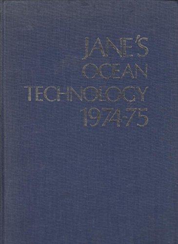 Jane's Ocean Technology 1974-75: Trillo, R.L. (ed)