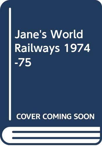 Jane's World Railways: Unknown