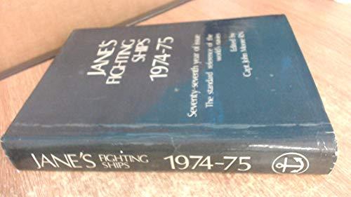 9780354005067: Jane's Fighting Ships 1974-75
