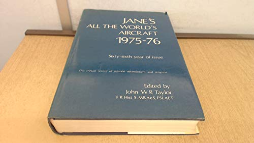 9780354005210: Jane's All the World's Aircraft