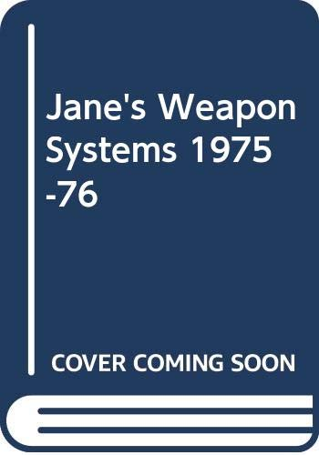 9780354005272: Jane's Weapon Systems 1975-76