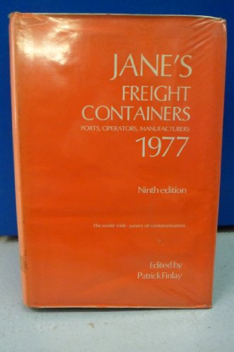 JANE'S FREIGHT CONTAINERS 1977: Finlay, Patrick.