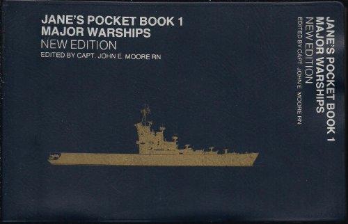 9780354010023: Jane's Pocket Book of Major Warships