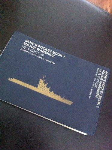 9780354010399: Jane's Pocket Book of Major Warships