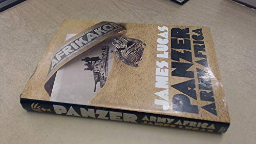 Panzer Army Africa (0354010565) by Lucas, James Sidney