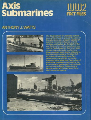 9780354010580: Axis Submarines (World War Two Fact Files)