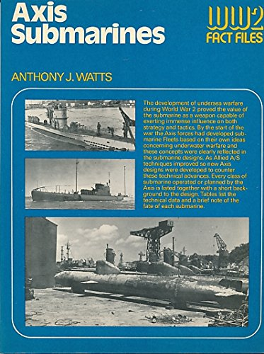 9780354010597: Axis Submarines (World War Two Fact Files)