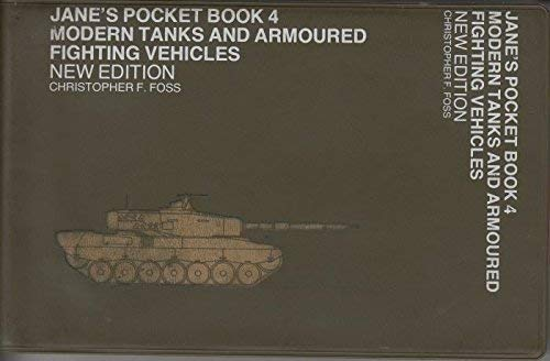 9780354010740: Jane's Pocket Book of Modern Tanks and Armoured Fighting Vehicles Book 4