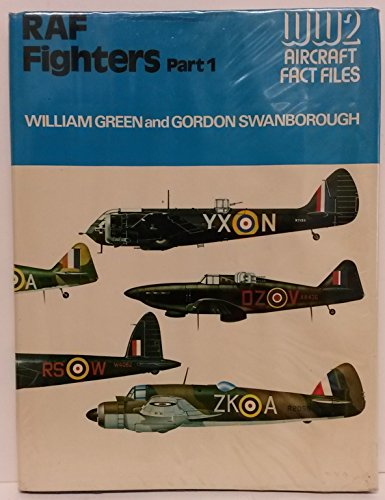 9780354010894: Royal Air Force Fighters (WWII Aircraft Fact Files)