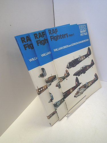 9780354010900: Royal Air Force (RAF) Fighters (WWII Aircraft Fact Files)