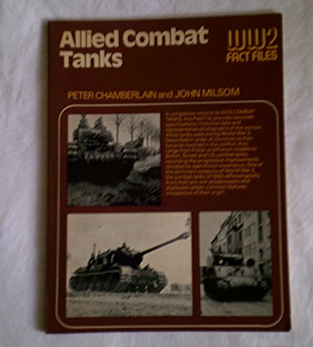 9780354011280: Allied Combat Tanks (World War Two Fact Files)
