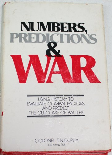 9780354011594: Numbers, Prediction and War
