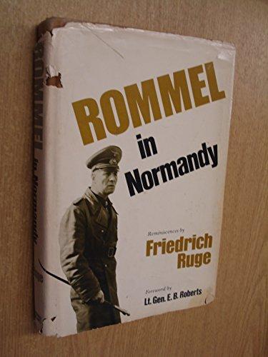 9780354011990: Rommel in Normandy