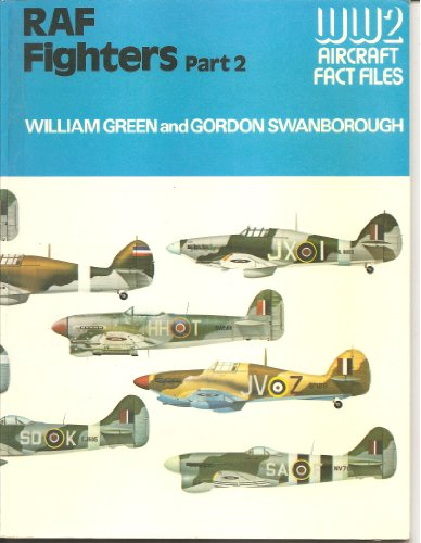 9780354012348: Royal Air Force Fighters: Pt. 2 (World War Two Fact Files)