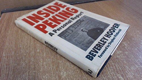 9780354044073: Inside Peking: A Personal Report