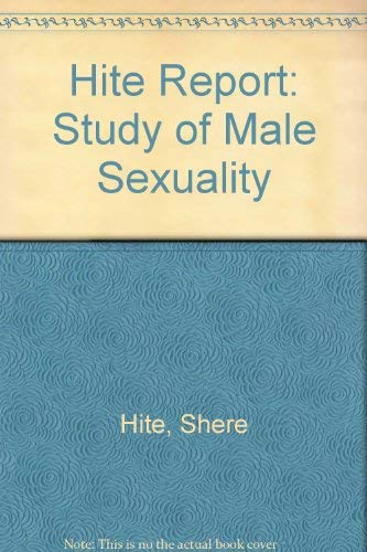 9780354046343: Hite Report: Study of Male Sexuality