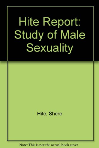 9780354047906: Hite Report: Study of Male Sexuality
