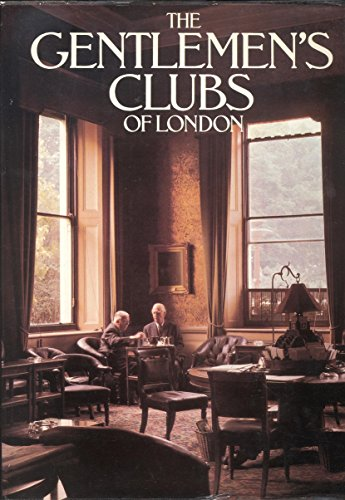 9780354085045: Gentlemen's Clubs of London