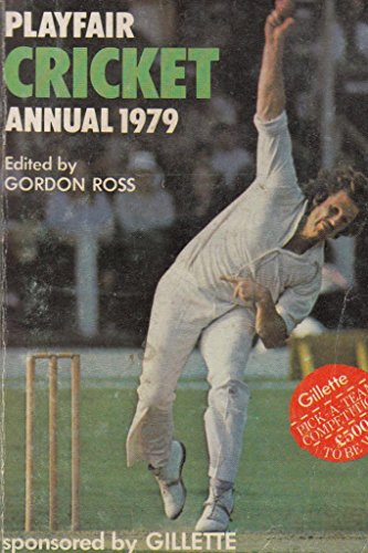 Playfair Cricket Annual 1979