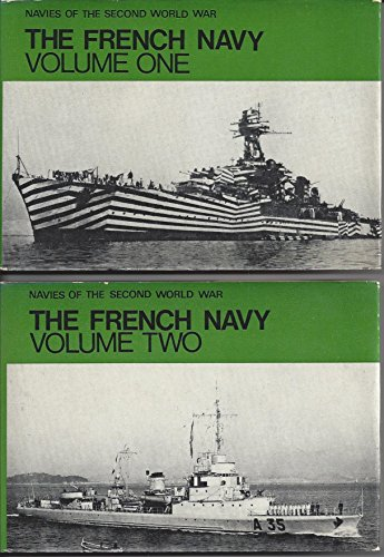 9780356023847: The French Navy, Vols. 1 & 2 (Navies of the Second World War)