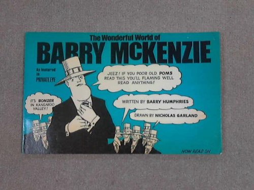 9780356025025: The wonderful world of Barry McKenzie; (A Gnome book)