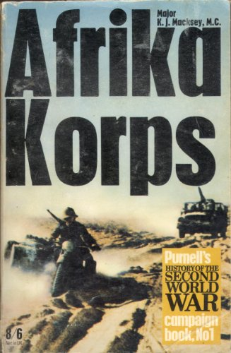 9780356025445: Afrika Korps (Purnell's history of the Second World War. Campaign book, no. 1)
