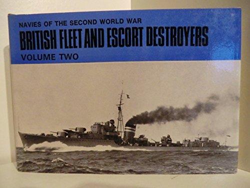 British Fleet & Escort Destroyers: Lenton, H.T.