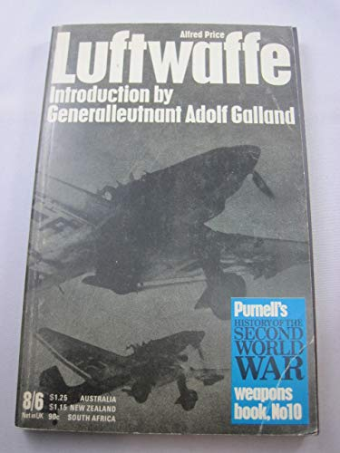 9780356030685: Luftwaffe (History of 2nd World War)