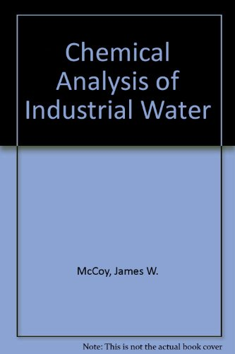 9780356030937: Chemical Analysis of Industrial Water