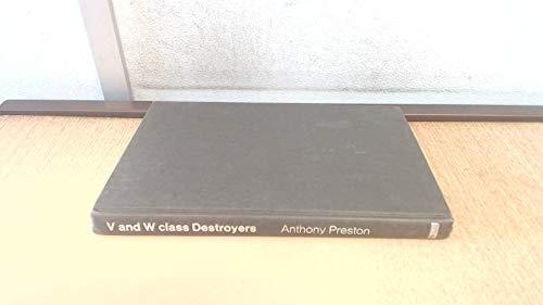 "9780356034713: ""V.& W."" Class Destroyers, 1917-45"