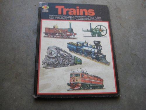 9780356036908: TRAINS (VISUAL BOOKS)