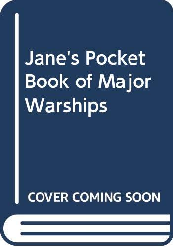 9780356042411: Jane's Pocket Book of Major Warships