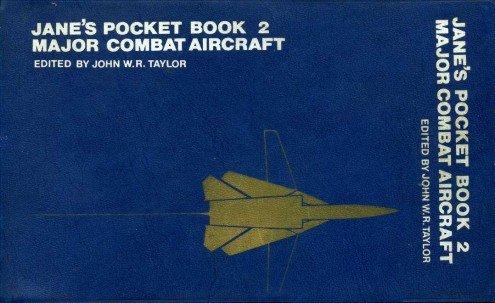 9780356043722: Jane's Pocket Book of Major Combat Aircraft