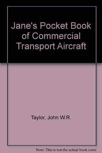 9780356043753: Jane's Pocket Book of Commercial Transport Aircraft