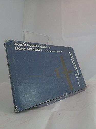 9780356043777: Jane's pocket book of light aircraft (Jane's pocket book ; 6)