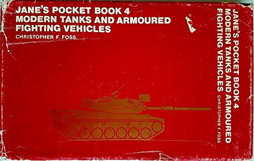 9780356046532: Jane's pocket book of modern tanks and armoured fighting vehicles (Jane's pocket books ; no. 4)