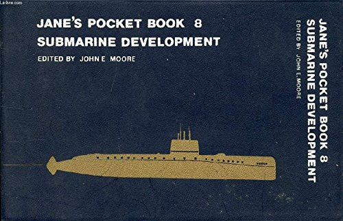 9780356047997: Jane's Pocket Book of Submarine Development