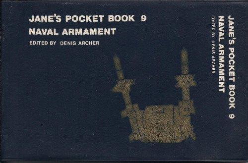 9780356048000: Jane's Pocket Book of Naval Armament (Jane's Pocket Book 9)