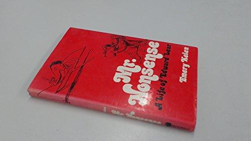 9780356080567: Mr.Nonsense: Life of Edward Lear