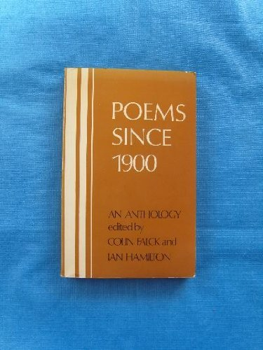 9780356082912: Poems Since 1900: An Anthology of British and American Verse in the 20th Century