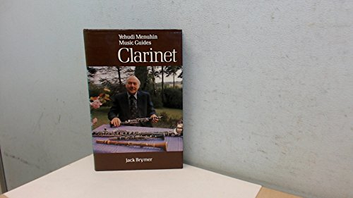 9780356084145: Clarinet (Yehudi Menuhin music guides)