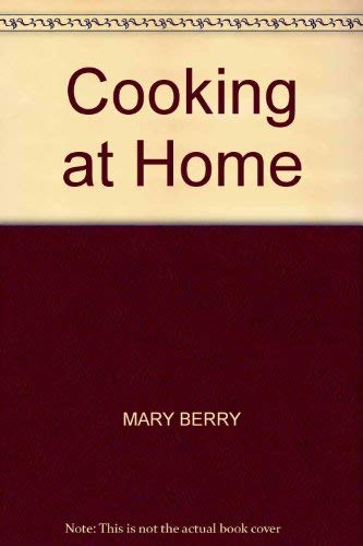 9780356097428: COOKING AT HOME
