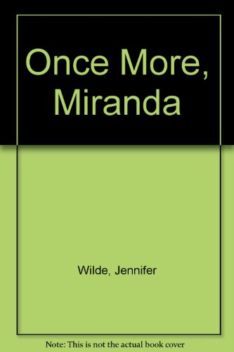 9780356102207: Once More, Miranda