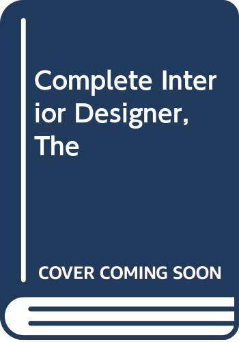 9780356104201: Complete Interior Designer