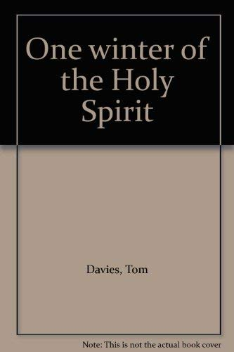 9780356106212: One winter of the Holy Spirit
