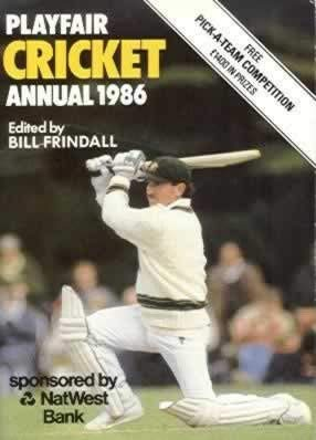 Playfair Cricket Annual 1986
